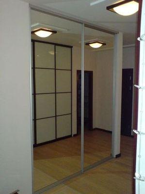 Шкафы купе от ТМ «Альтек» по индивидуальным проектам.