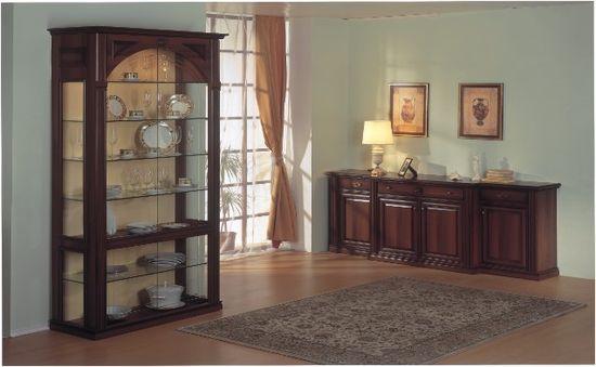 Гостиные, стенки, горки, столовые, библиотеки «Dominat».