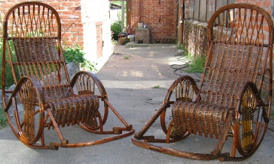 Продается плетёная мебель