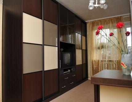 Шкафы-купе, гардеробные комнаты от ТМ «Альтек»