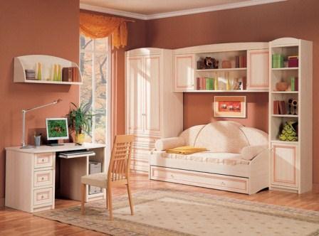 Мебель для детской комнаты из натурального дерева в Харькове