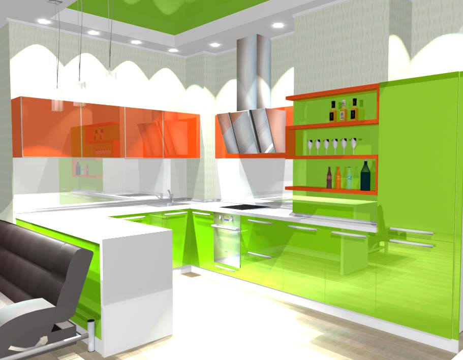 дизайн-проекты корпусной мебели