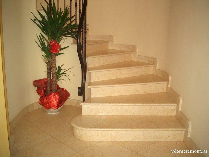 Ступени, лестницы, камины из искусственного камня на заказ