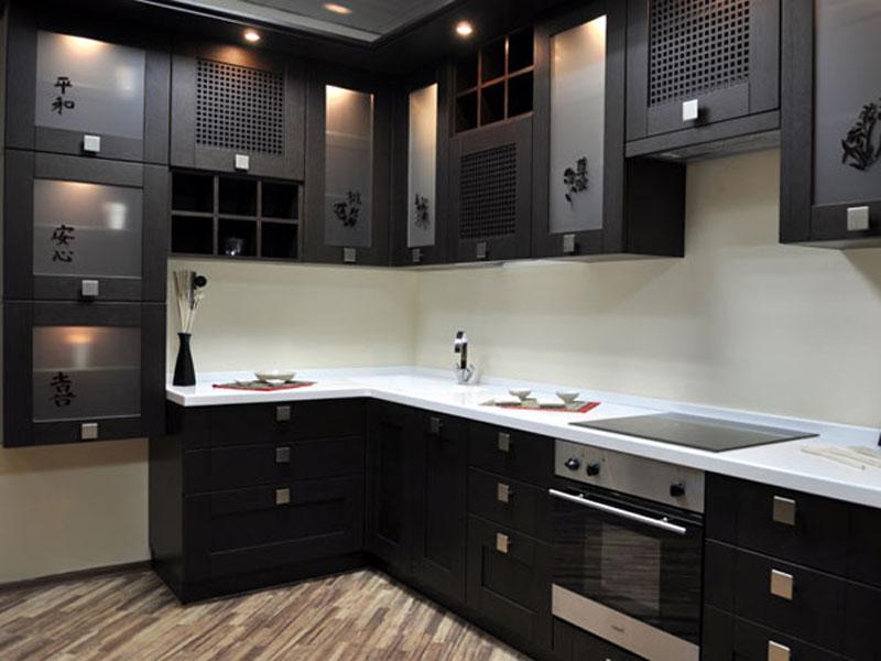 Кухонная мебель из искусственного камня