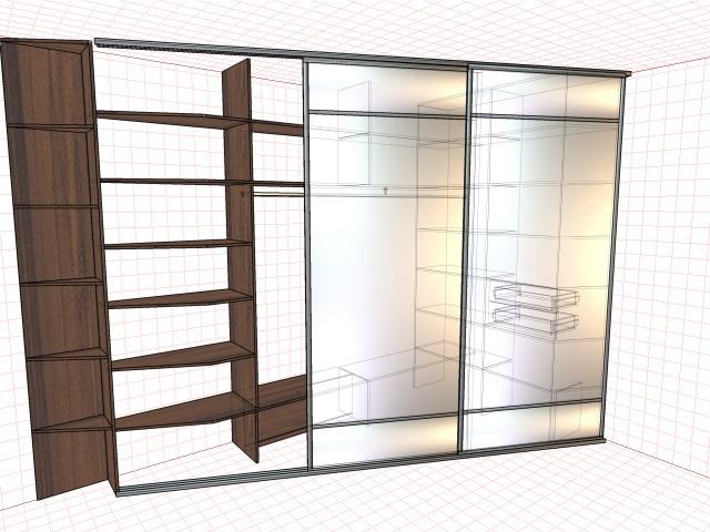 Мебель под заказ.3д визуализация.