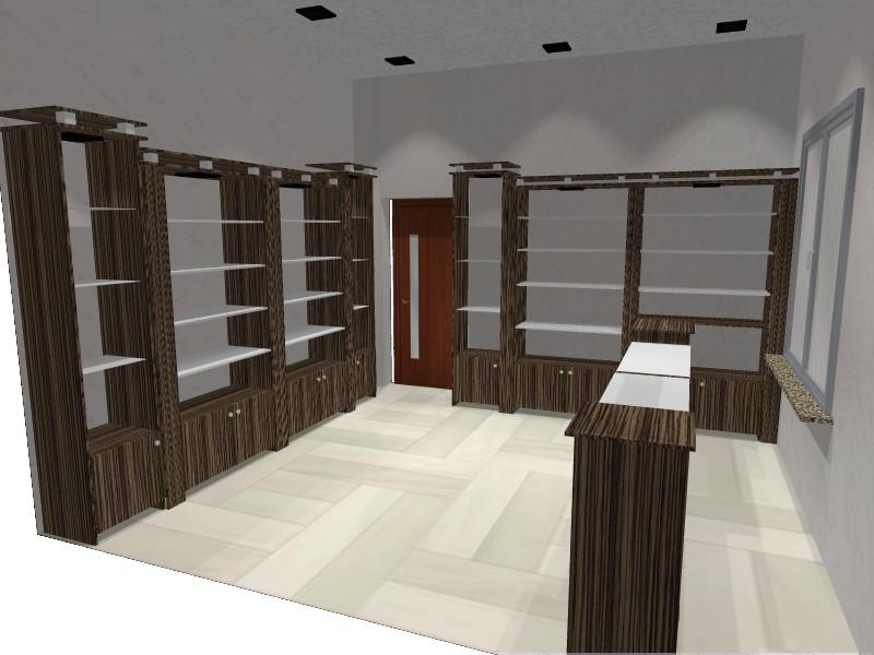 Мебель для офиса, торговое оборудование.Нестандартные решения. 3D проектирование мебели, услуги декоратора.