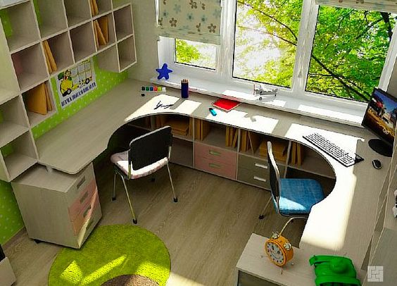 Детская мебель на заказ от Альтек Мебель